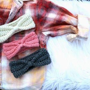 Handmade Toddler Crochet Headband Ear Warmer Wrap